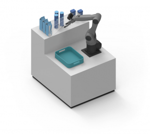 Roboception applications for industrial robots in the logistics