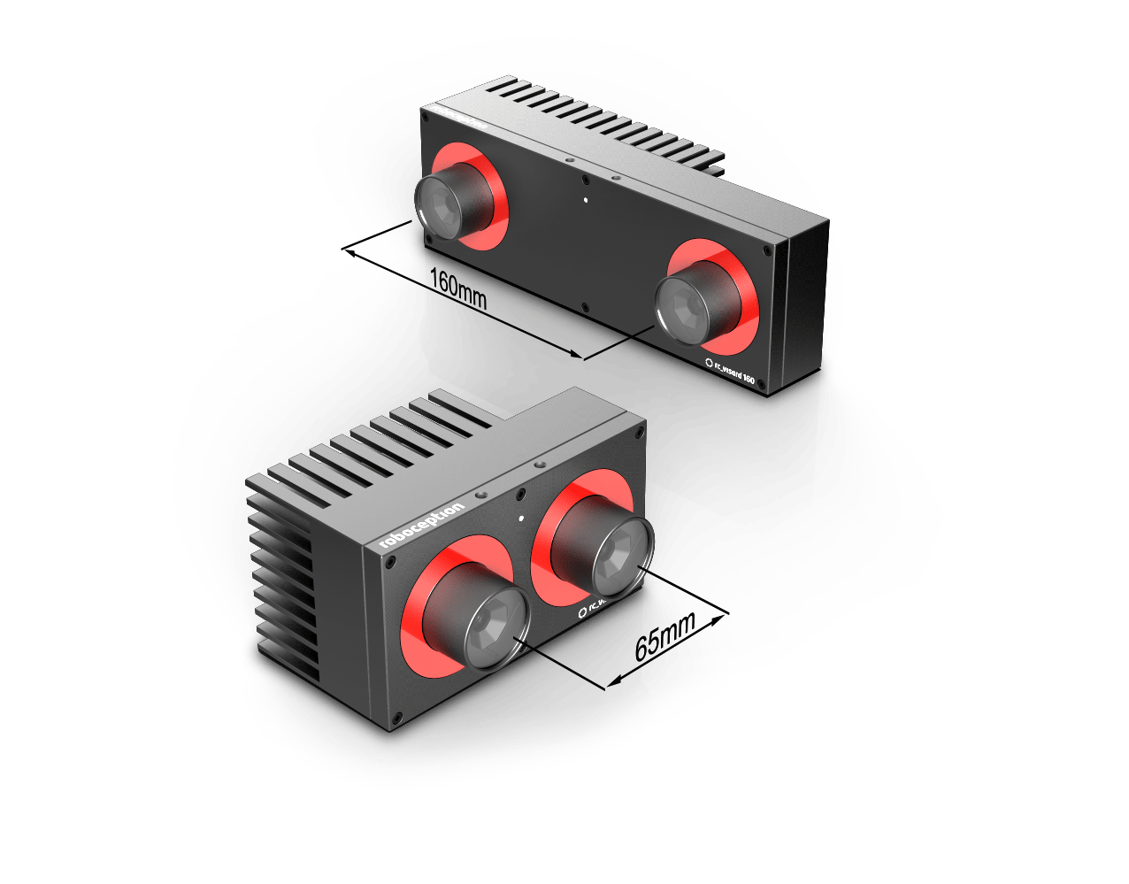 rc_visard is a powerful and high performance 3D sensor for